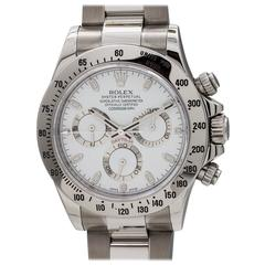 Rolex Stainless Steel Daytona Automatic Wristwatch Ref 116520, circa 2010s
