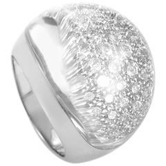 Cartier Myst de Cartier Large Diamond and Crystal White Gold Ring