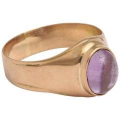 Russian Amethyst Gold Ring, circa 1900