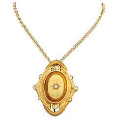 Victorian Gold Brooch, circa 1870