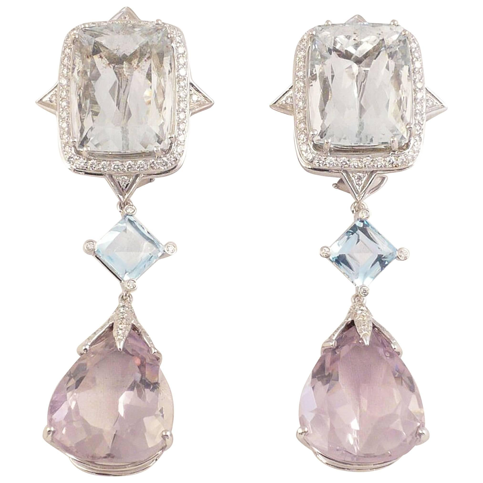 woodstock jewelers kunzite photo ferro estate product coral amethyst earrings jewelry