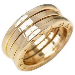 Bulgari Yellow Gold B.Zero 1 Ring