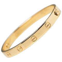 Cartier Yellow Gold Love Bangle