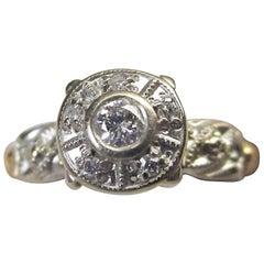Diamond Gold Engagement Ring
