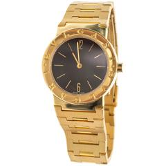 Bulgari Ladies Yellow Gold Quartz Wristwatch