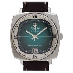 Nivada Grenchen Leonardo Da Vinci Automatic Wristwatch, circa 1970s