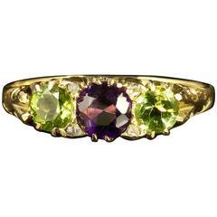 Antique Edwardian Suffragette Ring Dated Birmingham, 1907