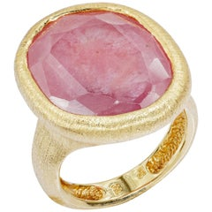 Yvel Pink And Blue Sapphire Ring