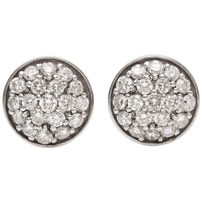 gold round diamond stud cut white p htm earrings brilliant product carat