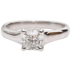 Tiffany & Co. Lucida Diamond Engagement Ring