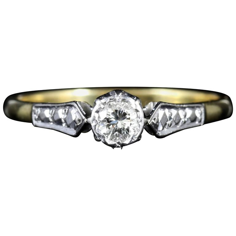 antique edwardian engagement ring circa 1915 at