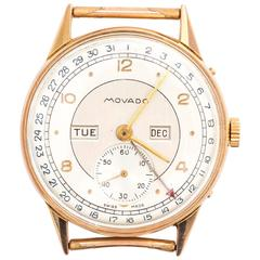 Movado Rose Gold Watch Head