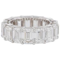 Graff Eternity Diamond Platinum Wedding Band