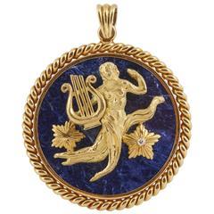 Van Cleef & Arpels Virgo Zodiac Pendant