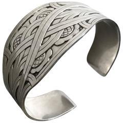 Harald Nielsen Sterling Silver Cuff Bracelet No. 55