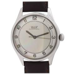 Tissot Stainless Steel Automatic Wristwatch, circa 1950s