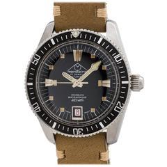 Mondaine Swiss Diver's Automatic Wristwatch, circa 1960s