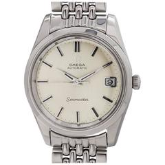 Omega Stainless Steel Seamaster Automatic Wristwatch, circa 1970