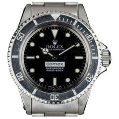 Rolex Stainless Steel Comex Submariner Automatic Wristwatch Ref 5514