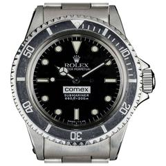 Rolex Stainless Steel Comex Submariner Automatic Wristwatch Ref 5514