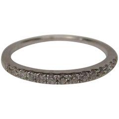 Diamond Gold Band Ring