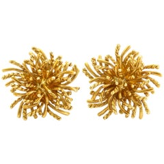 Tiffany & Co. Gold Rope Custer Earclips