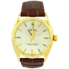 Rolex yellow gold Oyster Perpetual Wristwatch Ref 1003, circa 1966