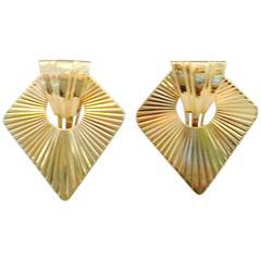 1940s Tiffany & Co. Pierced Earrings
