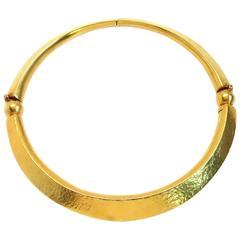 Ilias Lalaounis Gold Collar Necklace