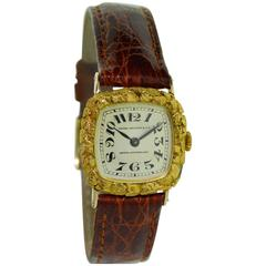 Patek Philippe Yellow Gold Miner Struck It Rich Manual Winding Wristwatch