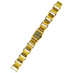 Vacheron & Constantin Ladies Yellow Gold Art Deco Manual Bracelet Watch