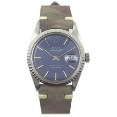 Rolex Stainless Steel Oyster Perpetual Datejust Wristwatch, 1970s