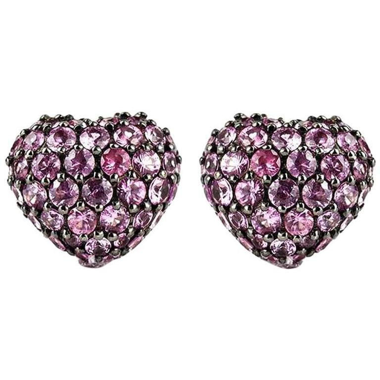 Chopard Sapphire Heart Earrings