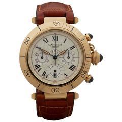 Cartier Pasha De Cartier Chronograph 150th Anniversary 18 Karat Gold, CC182544
