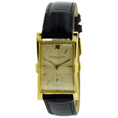 Vacheron & Constantin Yellow Gold Art Deco Manual Winding Watch