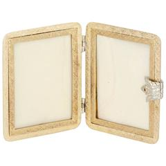 Buccellati Gold Traveling Picture Frame