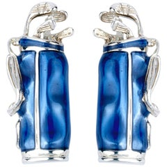Deakin & Francis Golf Bag Cufflinks