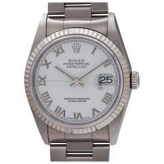 Rolex Stainless Steel Datejust self winding wristwatch Ref 16234, circa 1996