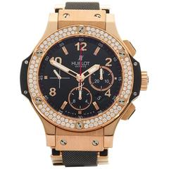 Hublot Big Bang 18 Karat Rose Gold Gents 301.PX.130.PX, 2010s