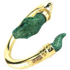 Couleurs de Geraldine Gold Snake Bracelet