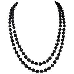 Luise Onyx Beaded Necklace