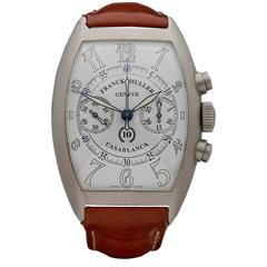Franck Muller Casablanca Chronograph Limited Edition Stainless Steel Gents