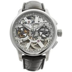 Maurice Lacroix Masterpiece Squelette Chronograph Stainless Steel Gents