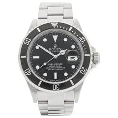 Rolex Submariner Stainless Steel Gents 16610, 2007