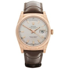 Rolex Day-Date 18 Karat Rose Gold Gents 118135, 2017