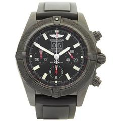 Breitling Windrider Blackbird PVD Coated Stainless Steel Gents M4435911, 2010