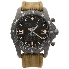 Breitling Chronospace PVD Coated Stainless Steel Gents M7836622 BD39, 2014