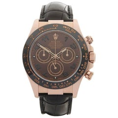 Rolex Daytona 18 Karat Rose Gold Gents 116515LN, 2014