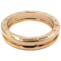 Rose Gold B Zero 1 Bulgari Ring