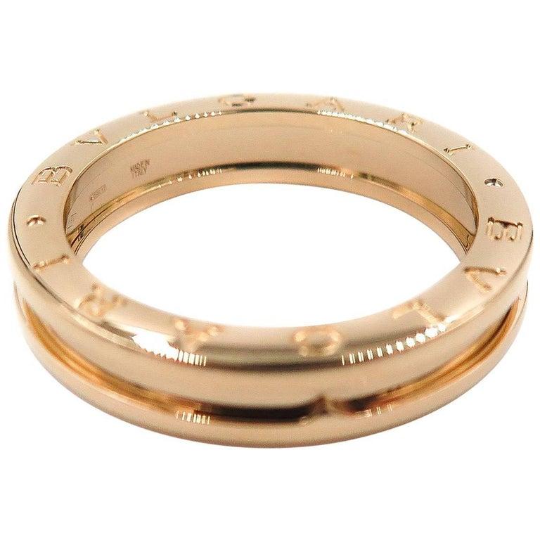 Rose Gold B Zero 1 Bulgari Ring